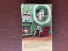 B1K postcard ww1 song card let me return to dreamland no 2 lonely