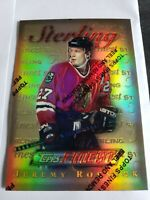 Jeremy Roenick 1995-96 Topps Finest RARE GOLD REFRACTOR Blackhawks Mint