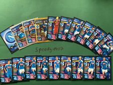 Topps Champions League 2019 2020 all 19 Neapel Napoli complete Match Attax