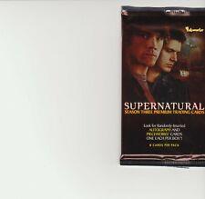 SUPERNATURAL season 3 , trading  cards  pack