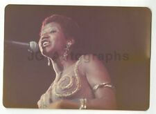 Aretha Franklin - Vintage Candid Photo by Peter Warrack - Previously Unpublished