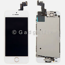 Gold LCD Screen Display + Touch Screen Digitizer + Button Camera for Iphone 5S
