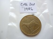 twenty pence eire coin 1986  - ireland pennies  - coin collector coin hunt