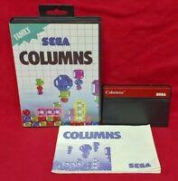 Columns  - SEGA SMS Master System Rare Game Works Complete