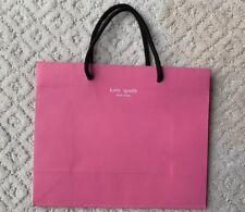 *RARE* Kate Spade Original Paper Shopper Bag Cotton Loop Handles Pink/Brown