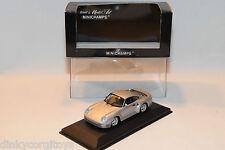 . MINICHAMPS PORSCHE 959 1987 SILVER GREY MINT BOXED RARE SELTEN RARO!!!