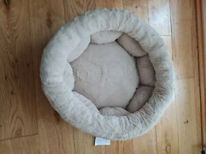 PET CAT DOG ROUND SOFT COMFY BED NEST BASKET - SMALL PETS - BNWT