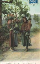 Kabylia Algeria,No.Africa,2 Kabyle Women Leaving the Well,Ethnic,Used,1917