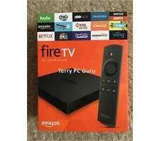 Amazon Fire TV Box 2nd Gen w/ALEXA Voice 4K UHD TVAddons Addons 17.3