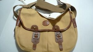 BARBOUR -B705 COTTON CANVAS  BAG & LINER- TARRAS- MEDIUM SIZE--MADE IN ENGLAND