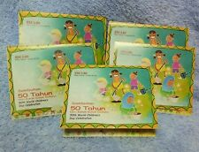 Lots of 5 sets of Malaysia stamps 50th world children day celebration