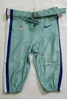 Dallas Cowboys Team Issued Seafoam Green Football Pants - Size 38 Short w Belt