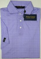 NWT $98 Polo Golf Ralph Lauren Purple Plaid SS Shirt Mens S L XL XXL NEW Cotton