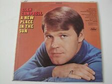GLEN CAMPBELL A NEW PLACE IN THE SUN VINYL LP 1968 CAPITOL RECORDS FREEBORN MAN