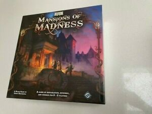 Mansion of Madness board game 1st Edition FFG BRAND NEW SEALED