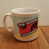 The Movie Channel Vintage Mug. Made in England. TV Tea Coffee. RARE!