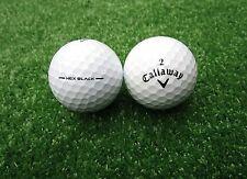 50 callaway Hex Black pelotas de golf aaaa-AAA top estado!!!