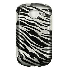 For Samsung Brightside U380 HARD Protector Case Snap On Phone Cover Silver Zebra