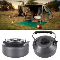 1.1L Ultra Lightweight Cookware Outdoor Camping Water Kettle Coffee Pot Teapot