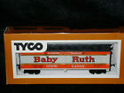 TYCO ** BABY RUTH ** Steam Era ** ICE BUNKER ** Reefer HO Scale Train *mint