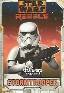 Star Wars Disney Store Exclusive Rebels Stormtrooper Trading Card FREE SHIPPING