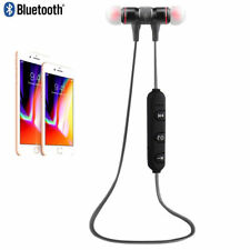 Wireless Bluetooth 4.1 Sports Headset Headphone Earphones Mic for Iphone7 7 Plus