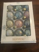 Silvestri Christmas Ornaments Set Of 12
