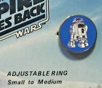 R2-D2 DROID VINTAGE 1980 STAR WARS METAL EMPIRE STRIKES BACK RING WALLACE BERRIE