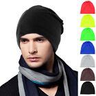 Unisex Slouch Winter Knit Hip Hop Ski Cap Beanie Baggy Crochet Hat Free Shipping