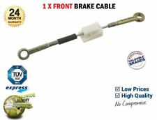1x Front HANDBRAKE CABLE for FORD ESCORT IV 1.1 1985-1990