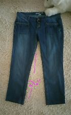 Dream Out Loud Ankle Pants Size 11 Low Waisted - Braid Trim