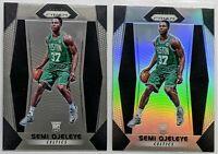 2017 Semi Ojeleye Panini Silver Prizm + Base RC Boston Celtics Rookie SHARP HOT!