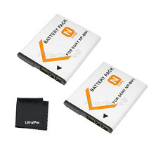 2x NP-BN1 NPBN1 Battery + BONUS for Sony DSC-TX100 TX5 TX55 TX7 TX9 TX99