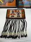 Vintage Polish Cepelia Woven Wool Handmade Wall Hanging Tapestry Colorful