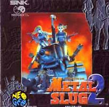 METAL SLUG 2 SNK NEO GEO CD AES Import Japan