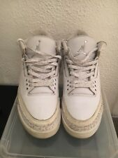 NIKE AIR JORDAN 3 RETRO  PURE MONEY Sz11 Uk 10 Eu45