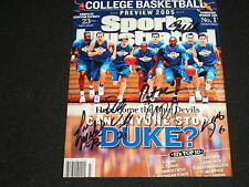 2006 Duke Basketball ACC Champs Team 6 Signed 8x10 Photo Autograph JJ REDICK ++