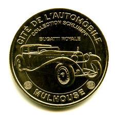 68 MULHOUSE Cité de l'automobile, Bugatti royale, 2007, Monnaie de Paris