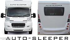 AUTO SLEEPER MOTORHOME CAMPERVAN NEW 2 PIECE KIT DECALS STICKER CHOICE OF COLOUR
