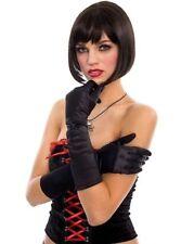 Gants de soirée noir pour femme