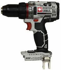 PORTER CABLE PCC600 20 Max-volt 1/2-Inch Lithium Ion Drill Driver TOOL ONLY