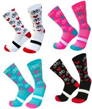 Cycling Sport Socks | Novelty Gift Present for Cyclist | Cycle Clothing - NEW