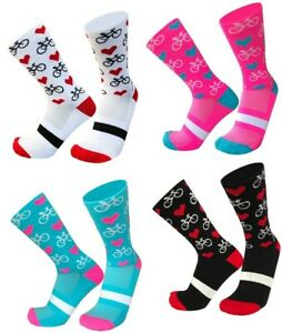 Cycling Sport Socks | Novelty Gift Birthday Present for Cyclists | NEW