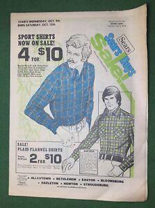 Vintage 1974 SEARS Sales Flyer advertisement Fashion Hardware Tires Paint TVs