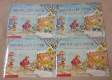 Lot 4 MRS. TOGGLE'S ZIPPER Books ROBIN PULVER Guided Reading Teacher Scholastic