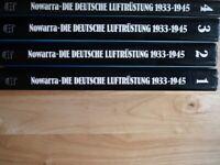 Die deutsche Luftrüstung, 1933-1945, Volume 1-4 - Heinz J Nowarra