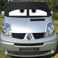 Renault TRAFIC Primastar Vivaro Van Ventana Pantalla Cubierta Parabrisas ojos gris
