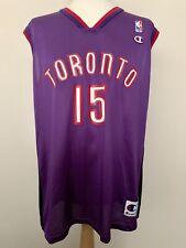 Toronto Raptors Vince Carter vintage basketball shirt jersey maillot camiseta