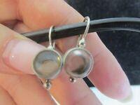 Jane Diaz Earrings Signed Sterling Silver Handmade