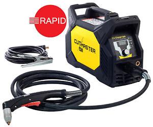 ESAB Cutmaster 40 Plasma Schneider Mit 5m SL60 Taschenlampe,12mm Schnitt,230v